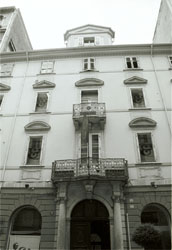 Berlitz School, Via San Nicolo 32 where Joyce taught