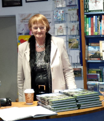Megan O'Beirne at Bridge St. Bookshop