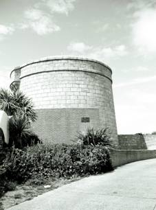 The Martello Tower(1804), Sandycove, (c)2004 Megan O'Beirne