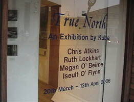 True North exhibition window